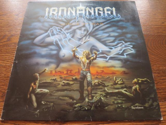 Iron Angel - Winds Of War - LP UK Vinyl Album Record Cover