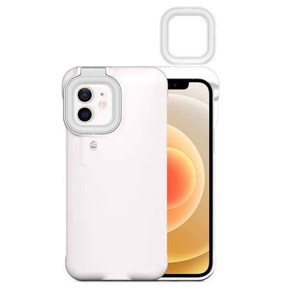 Mobile Protective Phone Case with Ring Light_0