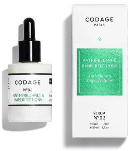 Sérum N°02 Anti-brillance & Imperfections CODAGE