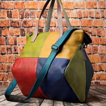 Load image into Gallery viewer, women's genuine leather large bag