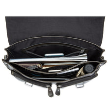 Load image into Gallery viewer, men's business briefcase  genuine leather  briefcase