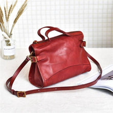 Load image into Gallery viewer,  casual designer genuine leather women's small handbag