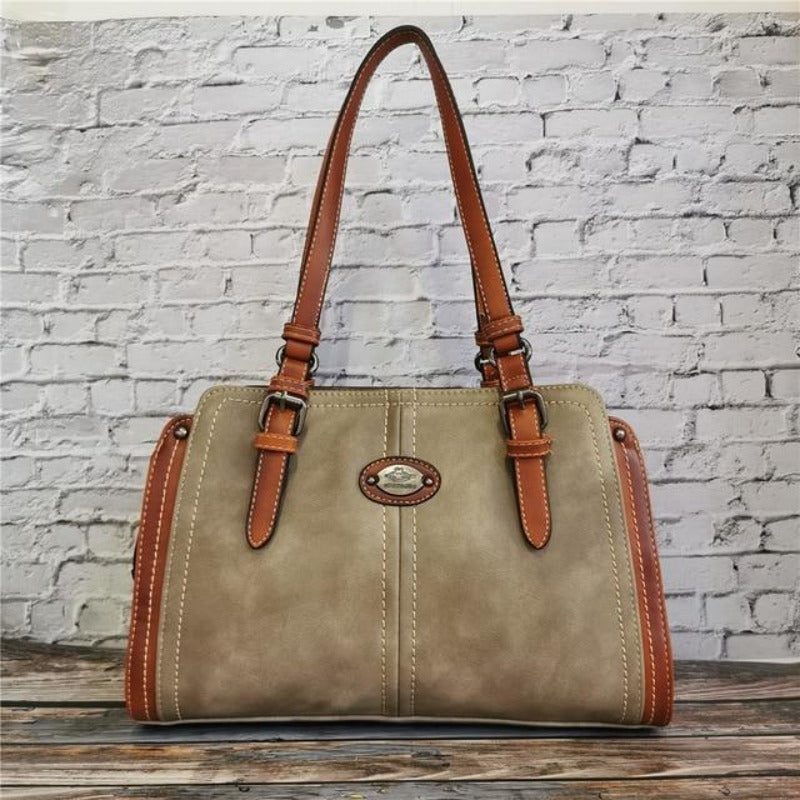 shoulder bag, genuine leather