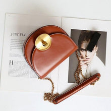 Load image into Gallery viewer,  Half Moon crossbody bag