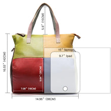 Load image into Gallery viewer, Marie - The Versatile Colourful Tote Bag