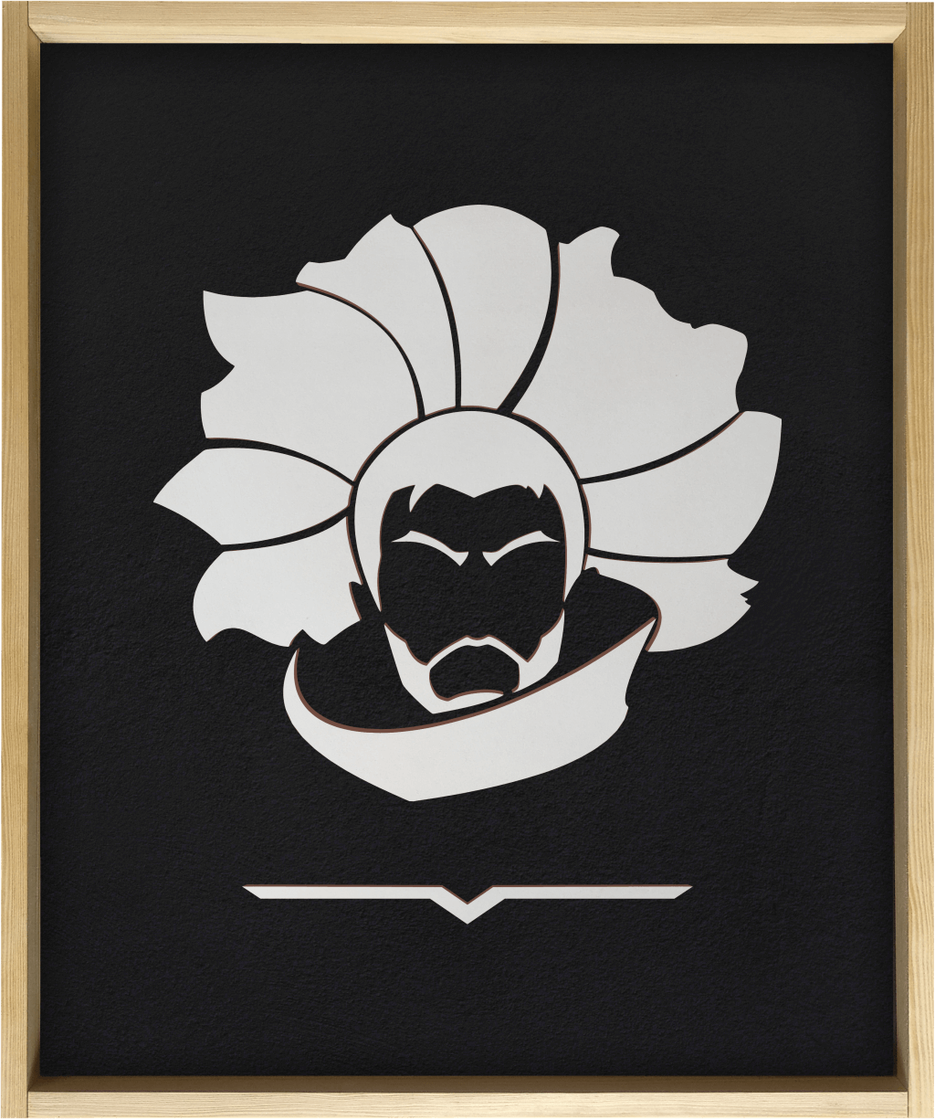 Yasuo - Wooden poster