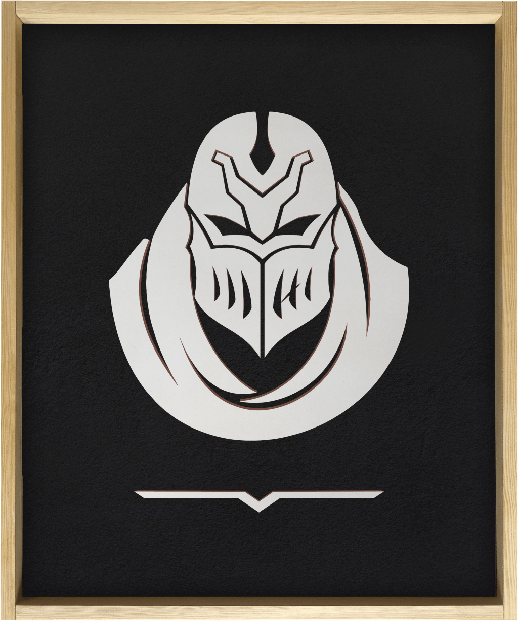 Zed - Wooden poster