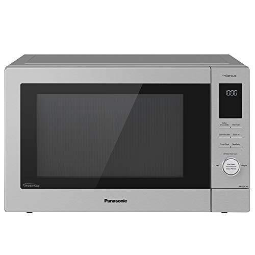 Panasonic NN-CD87KS Home Chef 4-in-1 Microwave Oven with Air Fryer, Convection Bake, FlashXpress Broiler, Inverter, 1000 Watt, Stainless Steel, 1.2 Cu.Ft, cft - PHUNUZ