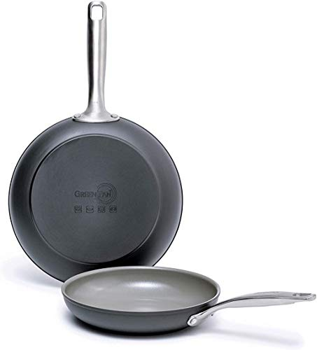 GreenPan Chatham Ceramic Non-Stick Open Frypan Set, 8