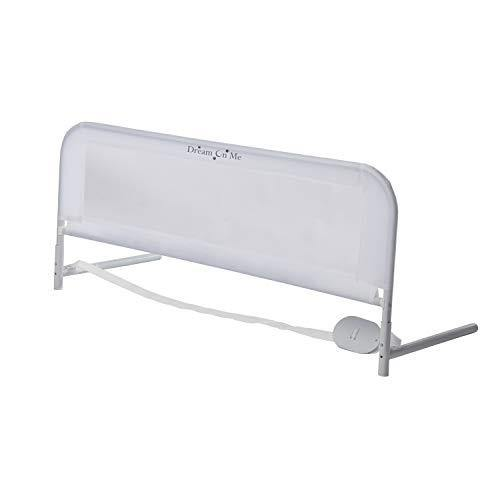 Dream On Me Adjustable Bed Rail, White, 3 Pound - PHUNUZ