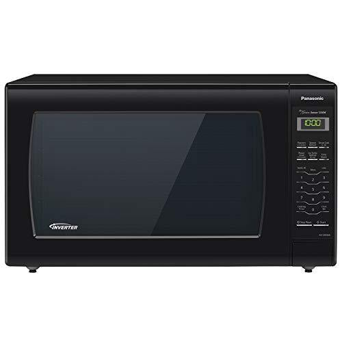 Panasonic Microwave Oven NN-SN936B Black Countertop with Inverter Technology and Genius Sensor, 2.2 Cubic Foot, 1250W - PHUNUZ