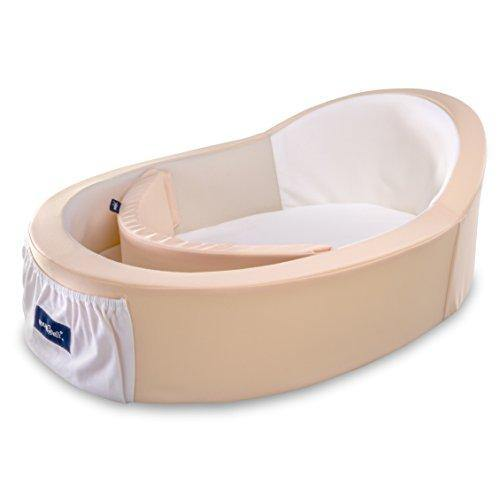 Mumbelli – The only Womb-Like and Adjustable Infant Bed; Patented Design (Peach). Light Weight for Easy Travel, Perfect for Lounging, Resting or co Sleeping. Reflux Wedge and Carry Bag Included. - PHUNUZ