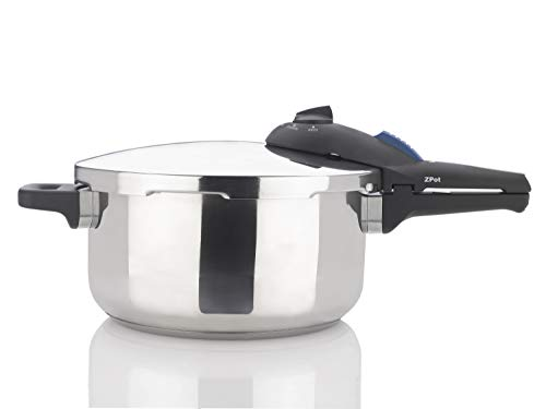 Zavor ZPot 4.2 Quart 15-PSI Pressure Cooker - Polished Stainless Steel