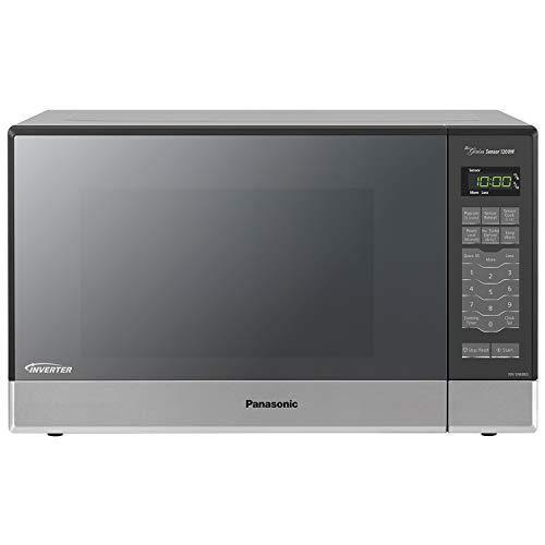 Panasonic Microwave Oven NN-SN686S Stainless Steel Countertop/Built-In with Inverter Technology and Genius Sensor, 1.2 Cubic Foot, 1200W - PHUNUZ