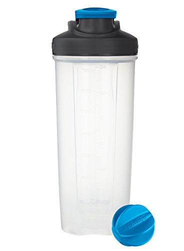 Contigo Shake & Go Fit Shaker Bottle, 28 oz., Carolina Blue