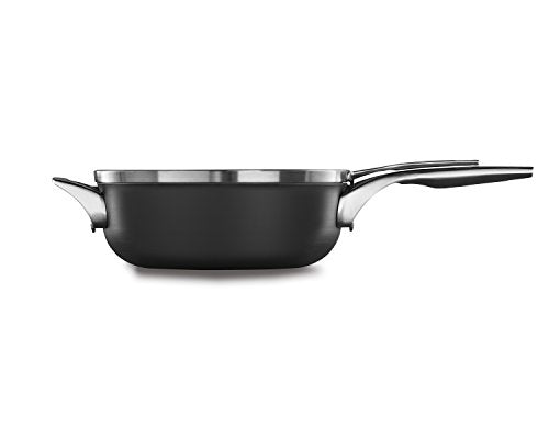 Calphalon Premier Space Saving Nonstick 4qt Chef's Pan with Cover