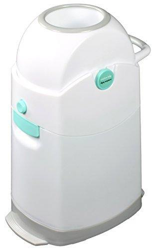 Creative Baby Tidy Diaper Pail, Pearl, Pearl/Blue/White/Gray, One Size - PHUNUZ