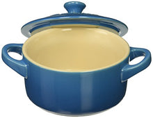 Load image into Gallery viewer, Le Creuset Stoneware Set of 4 Mini Cocottes with Cookbook, 8 oz. each, Marseille
