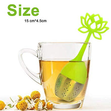 Load image into Gallery viewer, ANYI16 Tea Infuser Filter 2 Pack Stainless Steel Tea Ball - Loose Tea Steeper Mesh Tea Cup Filter with Flower shaped Silicone Handle for Loose Leaf or Herbal Tea