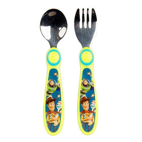 The First Years Disney/Pixar Toy Story Fork & Spoon, Green - PHUNUZ
