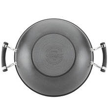 Load image into Gallery viewer, Circulon Acclaim Hard Anodized Nonstick Wok/Stir Fry Pan/Wok Pan with Lid - 12.5 Inch, Black