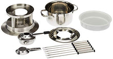 Load image into Gallery viewer, Swissmar Arosa 11 Piece Stainless Fondue Set