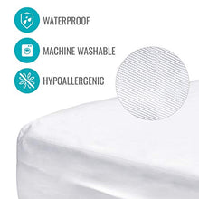 Load image into Gallery viewer, DMI Zippered Waterproof Mattress Protector and Cover, Twin
