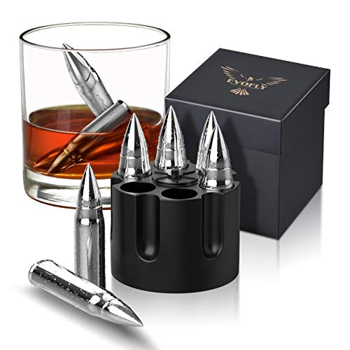 Gifts for Men Dad, Christmas Stocking Stuffers, Metal Whiskey Stones, Unique Birthday Gifts Ideas for Him Boyfriend Husband Grandpa Brother, Presents Cool Gadgets Anniversary Retirement