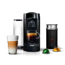 Load image into Gallery viewer, Nespresso Vertuo Plus Coffee and Espresso Machine by De'Longhi with Aeroccino, Ink Black