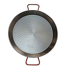 Load image into Gallery viewer, IMUSA USA , Red Paella Pan 15-Inch, 15 Inch
