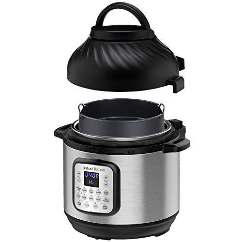 Instant Pot Duo Crisp Pressure Cooker 11 in 1, 8 Qt with Air Fryer, Roast, Bake, Dehydrate and more - PHUNUZ