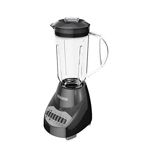 BLACK+DECKER Crush Master 10-Speed Blender, Black, BL2010BP - PHUNUZ