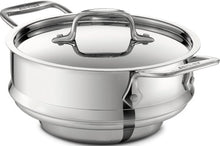 Load image into Gallery viewer, All-Clad 59915 Stainless Steel All-Purpose Steamer with Lid Cookware, Silver