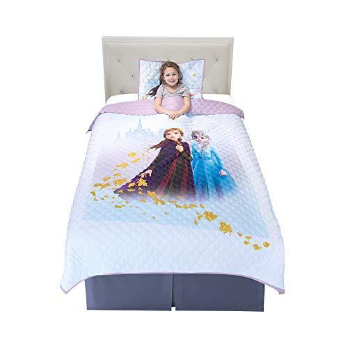 Franco NS2188 Kids Bedding Super Soft Microfiber Pillow Sham and Quilt Set, Twin/Full Size 72
