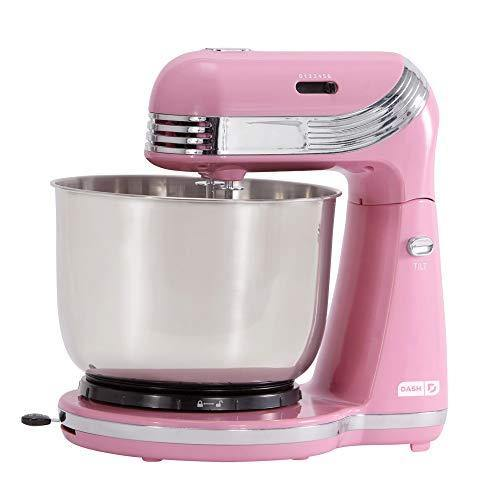 Dash Everyday Stand Mixer, Pack of 1, Pink - PHUNUZ