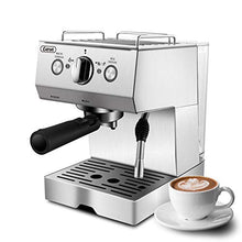 Load image into Gallery viewer, Espresso Machines 15 Bar Cappuccino Machine with Milk Frother for Espresso, Latte and Mocha, 1.5L Removable Water Tank and Double Temperature Control System, Classial, Sliver, 1050W