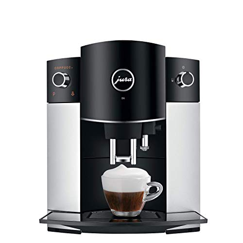 Jura D6 Automatic Coffee Machine, 1, Platinum