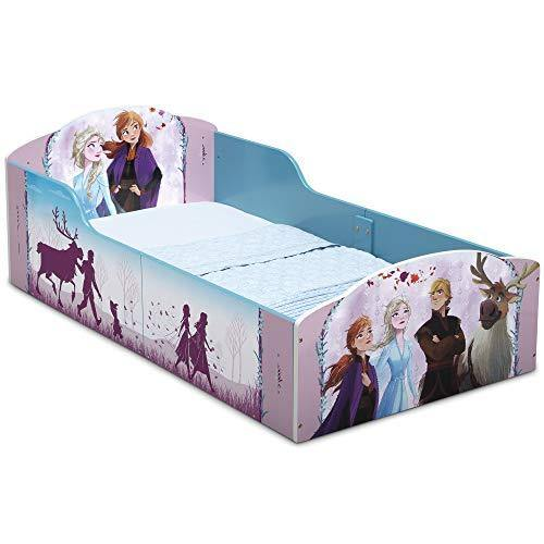 Delta Children Wood Toddler Bed, Disney Frozen II (BB81453FZ-1097) - PHUNUZ