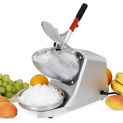 F2C 300W Electric Ice Shaver Machine Shaved Ice Machine Ice Crusher Snow Cone Maker 143 LBS - PHUNUZ