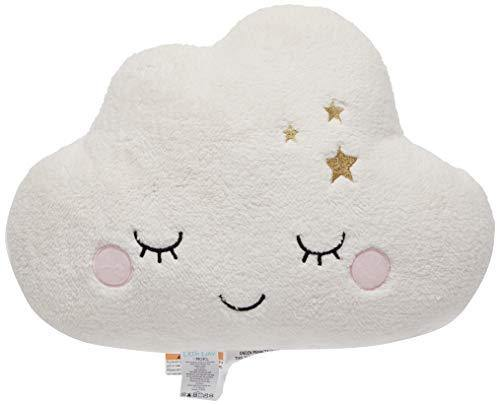 Little Love by NoJo Cloud Shaped Pillow, White - PHUNUZ