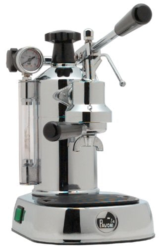 La Pavoni PC-16 Professional Espresso Machine, Chrome