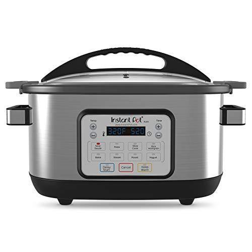 Instant Pot Aura Multi-Use Programmable Slow Cooker, 6 Quart, No Pressure Cooking Functionality - PHUNUZ