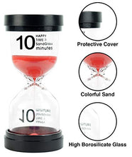 Load image into Gallery viewer, The Good Ele Co. 1 5 10 15 20 30 Minutes Hour Glass Sand Timers Pomodoro Timer Sandglass Timer Hour Glass Timer Study Timer Classroom Timer Sand Timers for Kids Visual Timers for Kids Meditation Timer