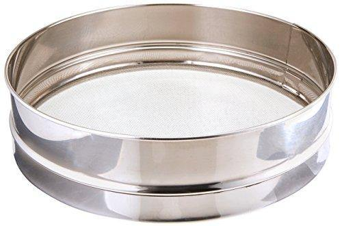 Winco Sieves, 10-Inch, Stainless Steel - PHUNUZ