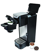 Load image into Gallery viewer, Mr. Coffee BVMC SC100 2 Single Serve Coffee Maker, Black With Silver Panel