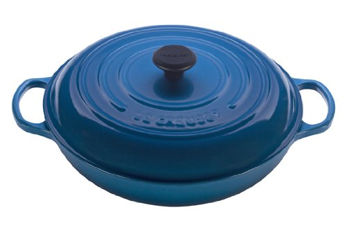 Le Creuset Enameled Cast Iron Signature Braiser, 5 qt. , Marseille