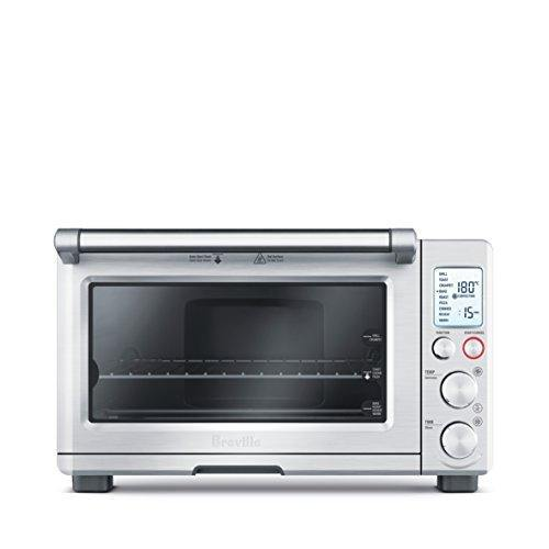 Breville BOV800XL Smart Oven 1800-Watt Convection Toaster Oven with Element IQ, Silver - PHUNUZ