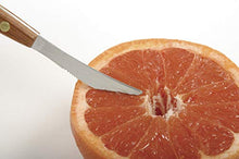 Load image into Gallery viewer, Norpro, Silver Twin Blades Grapefruit Knife, 8 inch