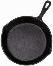 Load image into Gallery viewer, Backcountry Cast Iron Skillet(6 Inch Small Frying Pan + Cloth Handle Mitt, Pre-Seasoned for Non-Stick Like Surface, Cookware Oven / Broiler / Grill Safe, Kitchen Deep Fryer, Restaurant Chef Quality)