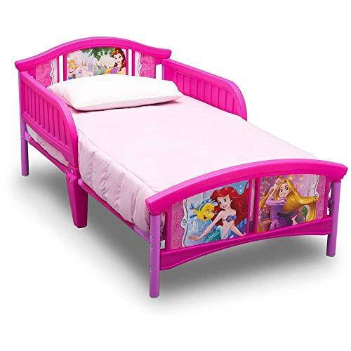 Delta Children Disney Princess Plastic Toddler Bed - PHUNUZ